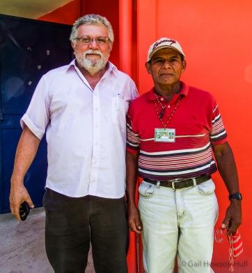Dr. Pablo Ortiz, left, with Don Alejandro Salomon Palacios, Ngobe Medicinal Plant Healer