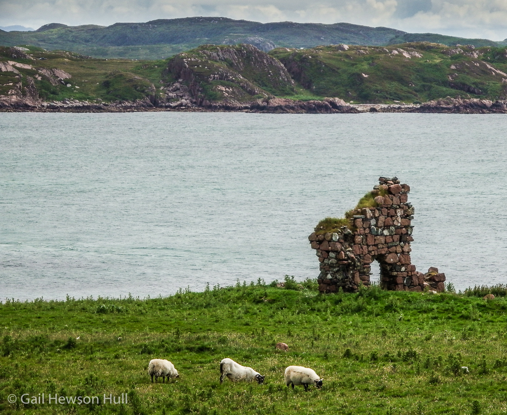 Ancient ruin on western coast.