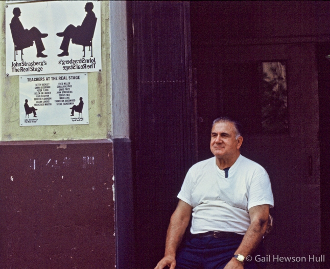 Stage doorman, New York, New York, 1972