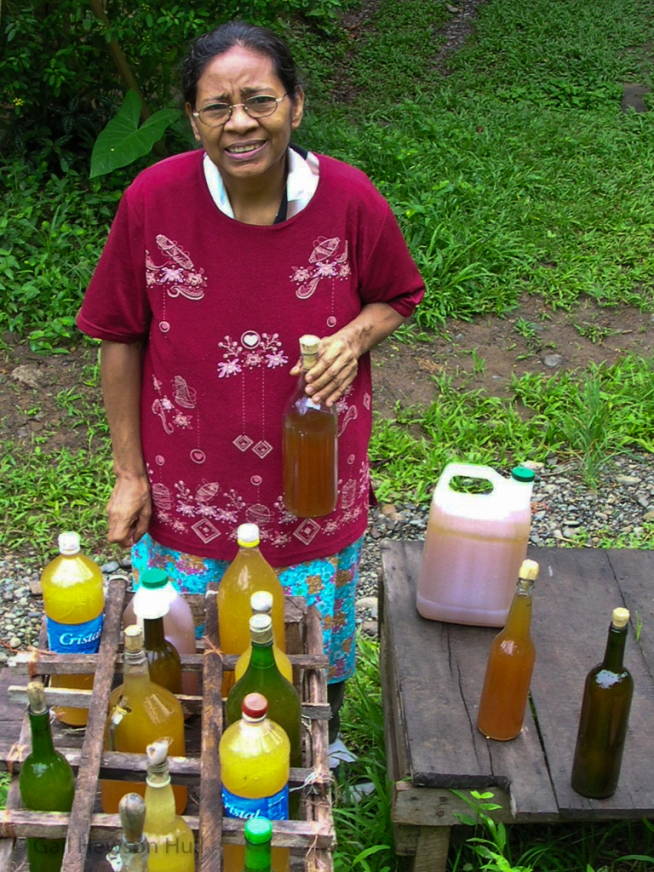 Honey and juice seller, Puerto Viejo, Costa Rica, 2006
