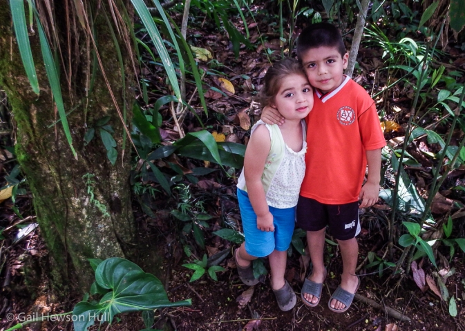 Brother and sister, Zailyn and Jefferson, San Vito, Costa Rica, 2015